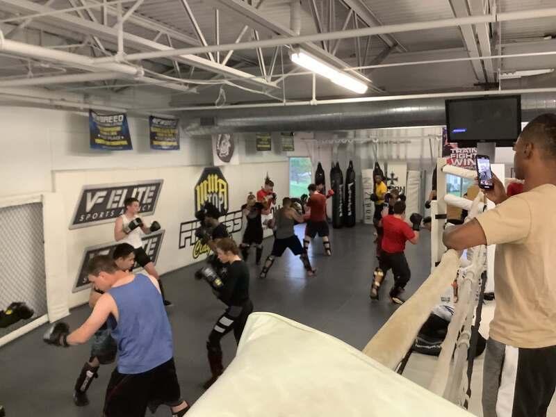 Adult Muay Thai 1, MMA Stop Fitness Crest Hill IL